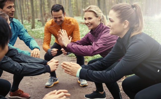 Why training outdoors benefits your health