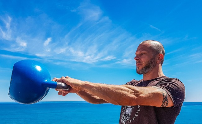 In the swing: kettlebell exercises to sweat for